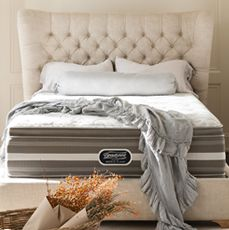 Free Box Spring with a Beautyrest Recharge World Class mattress purchase