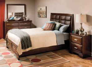 Bedroom Sets Raymour And Flanigan raymour and flanigan bedroom furniture retreat 4 pc queen bedroom