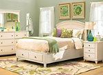 Kylie 4 Pc Queen Platform Storage Bedroom Set Bedroom