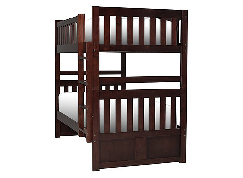 Belisar Twin Over Twin Bunk Bed Bedrooms Clearance Raymour And Flanigan Furniture